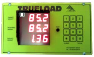 Trueload weighing system